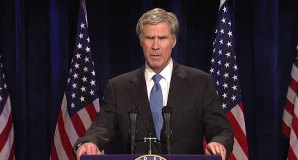 Bush-impersonating comic Will Ferrell jabs Trump for his 'thin skin': 'Can't you just go with it?'