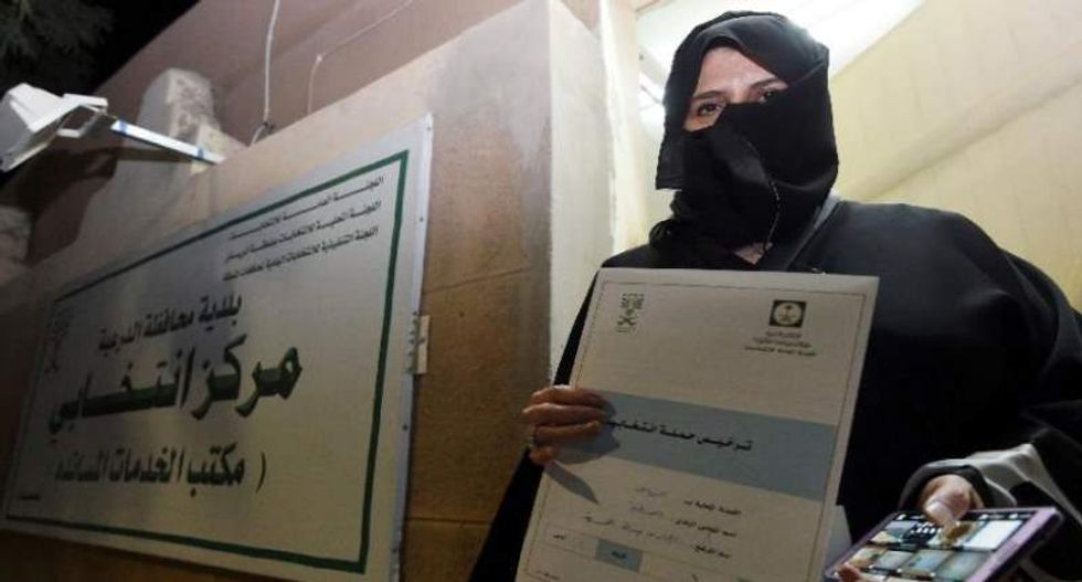 Saudi Arabia prepares for first-ever election open to female candidates and voters