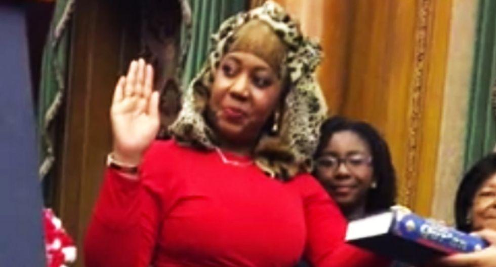 Bigots go bonkers after Muslim judge swears oath on Koran instead of Bible: 'She should be arrested!'
