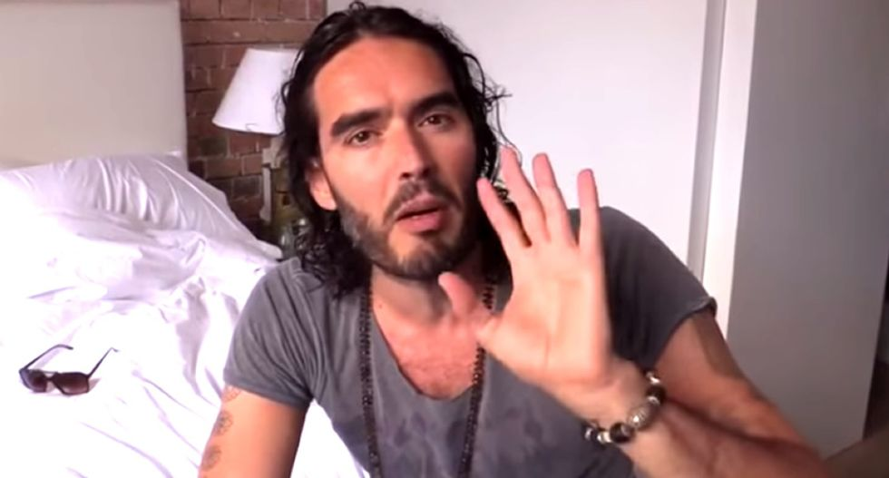 Russell Brand's anti-voting revolution makes Sex Pistols' 'Johnny Rotten' want to puke