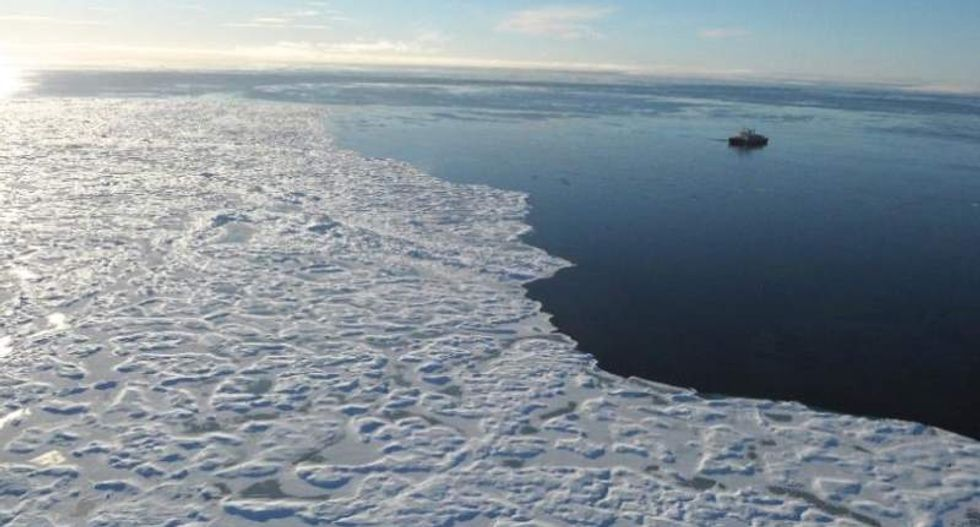 Air temperatures in the Arctic reach 115-year high: researchers