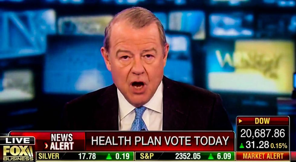 'They can't govern': Fox host roasts GOP over Trumpcare 'disgrace'