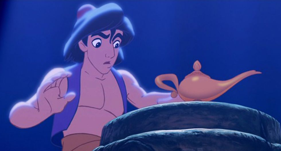 30 percent of warmongering Republicans would bomb home of cartoon Aladdin: poll