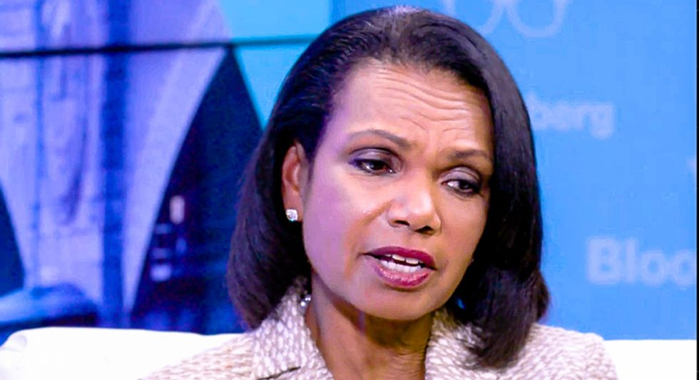 Condoleezza Rice says Trump asking Ukraine to investigate Biden is 'deeply troubling'