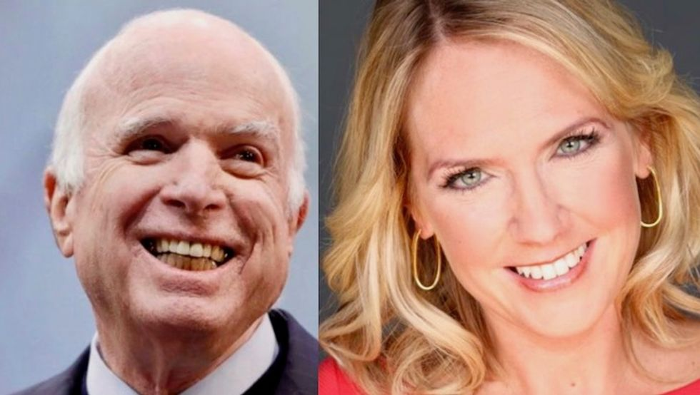 'You're a disgrace - apologize': Internet rips Trump aide and calls for resignation over 'dying' John McCain joke