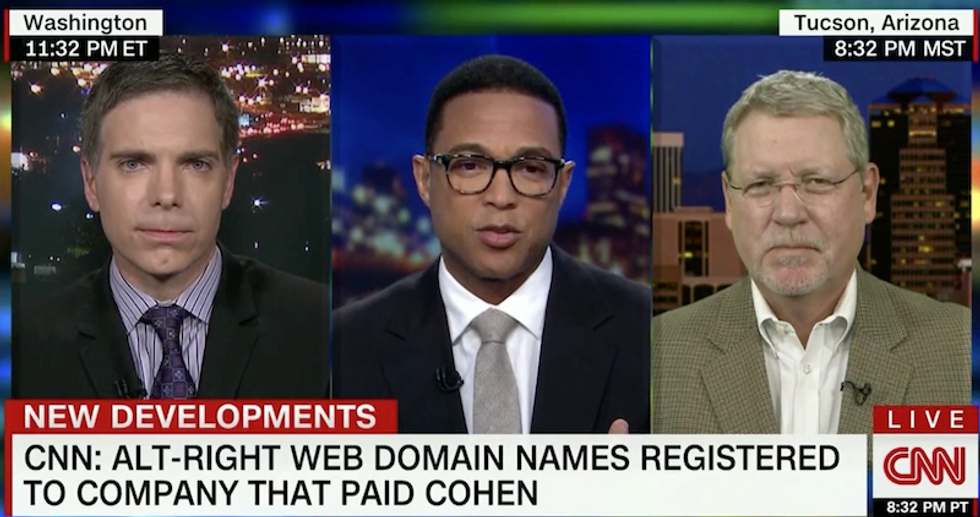 'This is part of a pattern': Russian company tied to Trump registering alt-right domain names is troubling say analysts