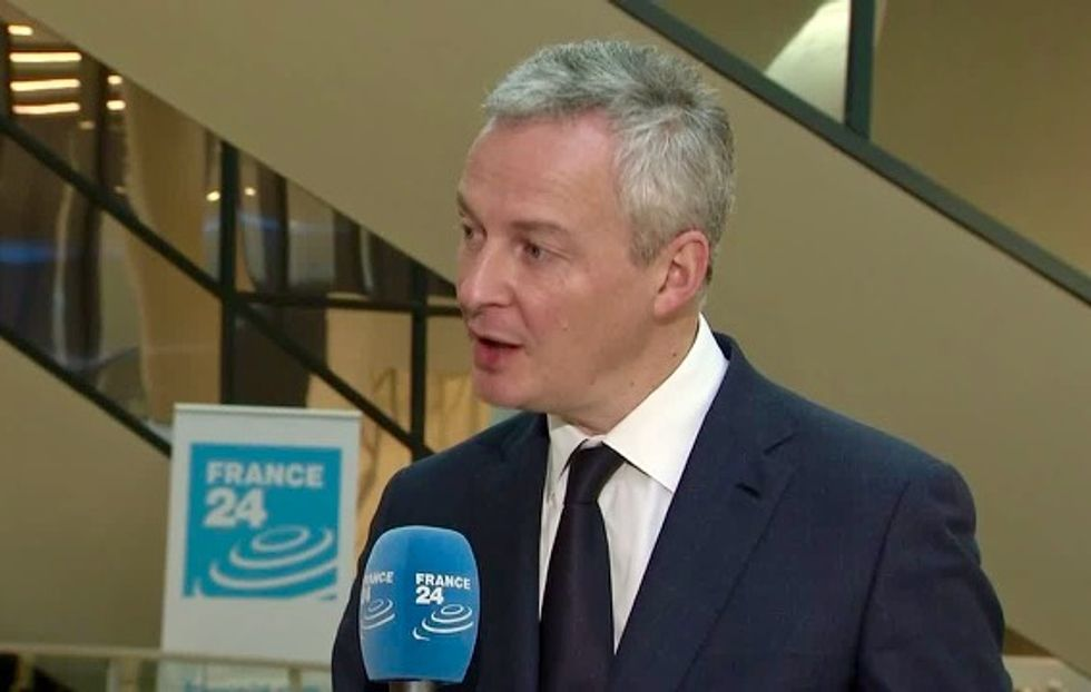 France vows pushback against US sanctions on Iran