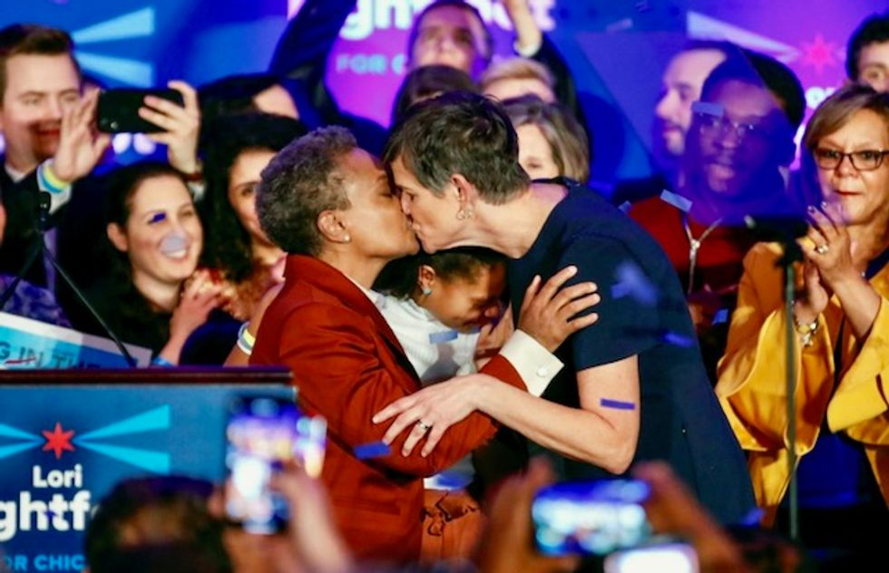 In politics and gay? So what, say most US voters