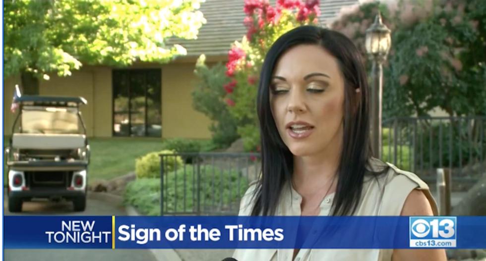 Trump flag ignites turmoil in gated California community