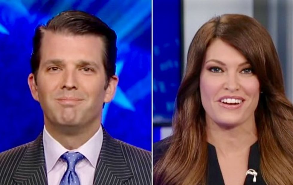 Donald Trump Jr. reportedly dating pro-Trump Fox News host Kimberly Guilfoyle amid his divorce