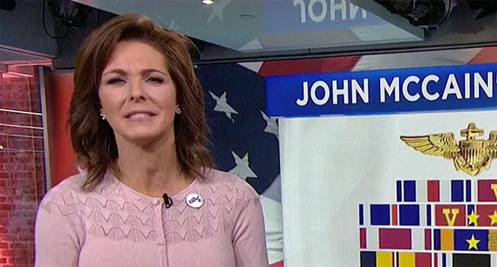 MSNBC's Stephanie Ruhle tears up while scolding White House for John McCain comments