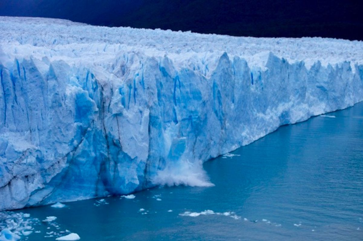 Study reveals rapid melting of glaciers has shifted earth's axis