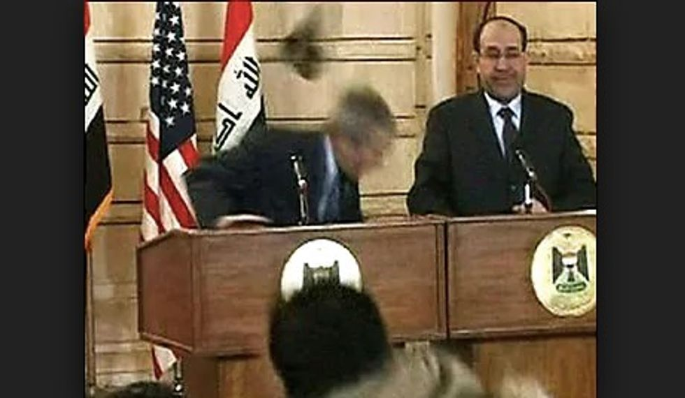 Iraqi journalist who threw shoes at Bush stands for parliament