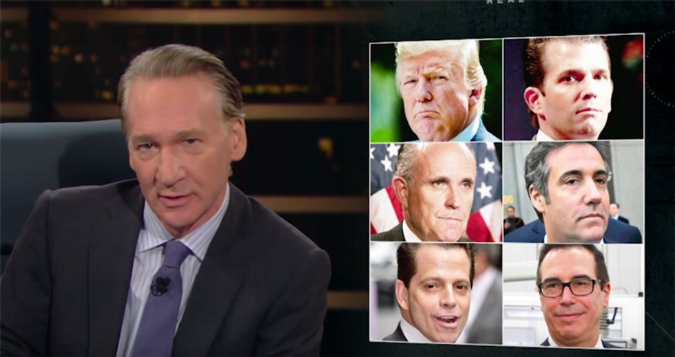HBO's Bill Maher scorches Heartland voters for 'getting in bed' with a mobbed-up Trump