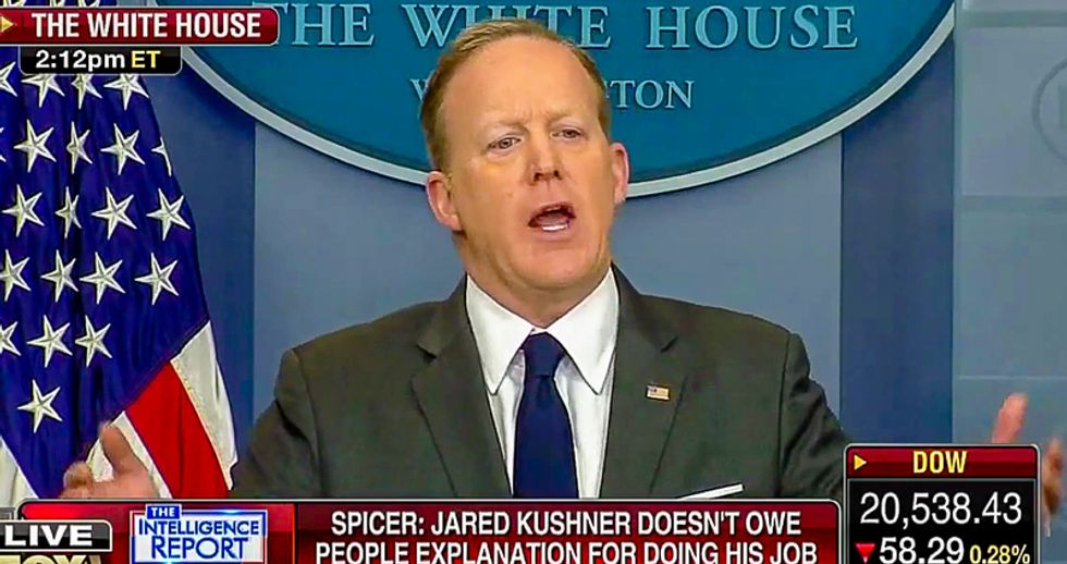 'Anything is possible': Spicer admits White House may have given Nunes info to defend Trump's wiretap claim