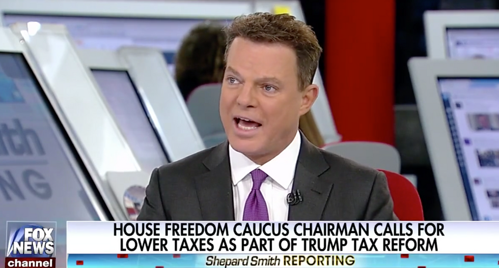 'That ain't how Washington works!': Shep Smith goes off on Trump's incompetent health care strategy