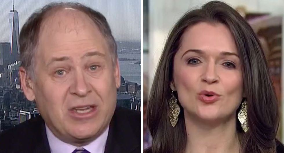 'You're wringing your own neck': Writer shuts down Trump apologist's unhinged blather about president's 'innocence'