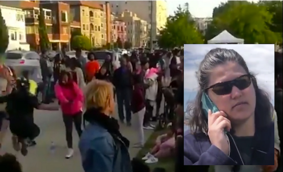 WATCH: Oakland locals swarm park where racist woman called 911 on black BBQ -- and it was awesome