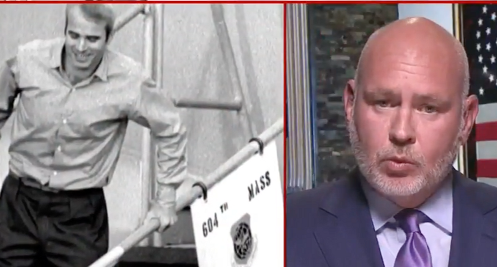 MSNBC's Steve Schmidt bashes 'coward' Trump for his 'vile and mean' history of attacking John McCain