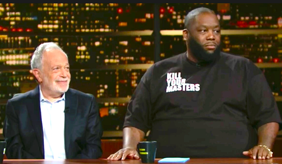 Watch Robert Reich and pro-NRA rapper Killer Mike have fiery debate over gun control on Bill Maher