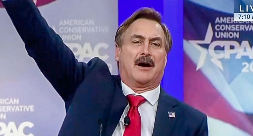 My Pillow founder rouses CPAC with 'Jesus' rant: Trump is the 'greatest president' because he was 'chosen by God'