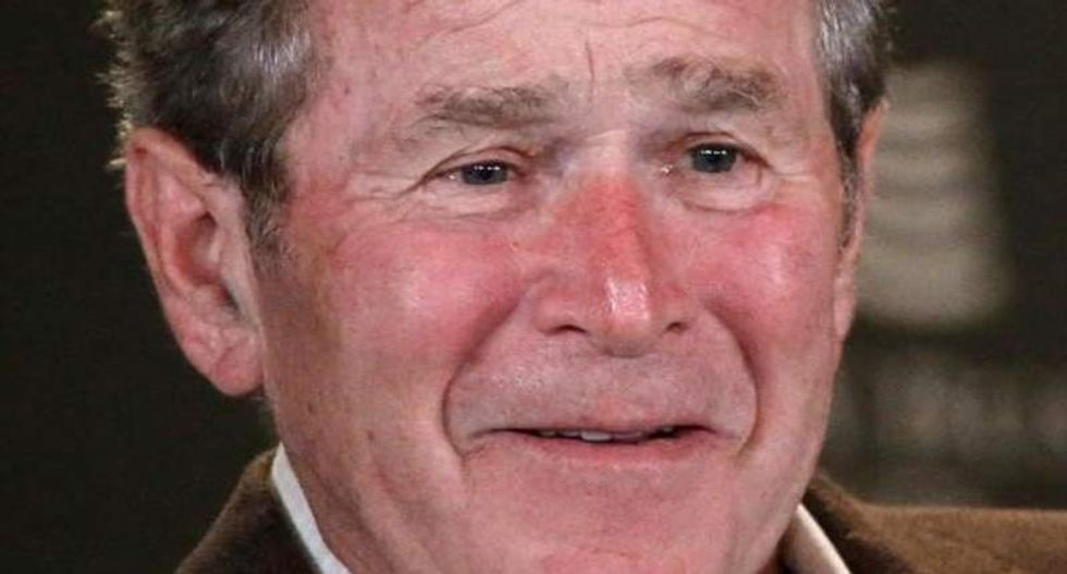 He's back: George W. Bush returns from exile to raise funds for GOP Senate candidates