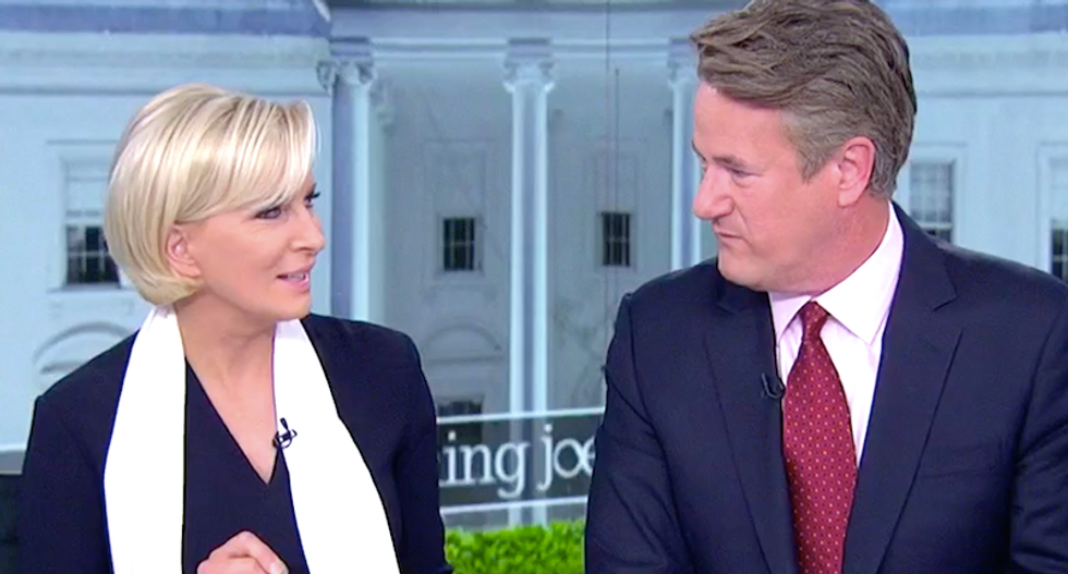 'They're not even good at lying': Morning Joe mocks Trump team's 'incompetent' efforts against Mueller
