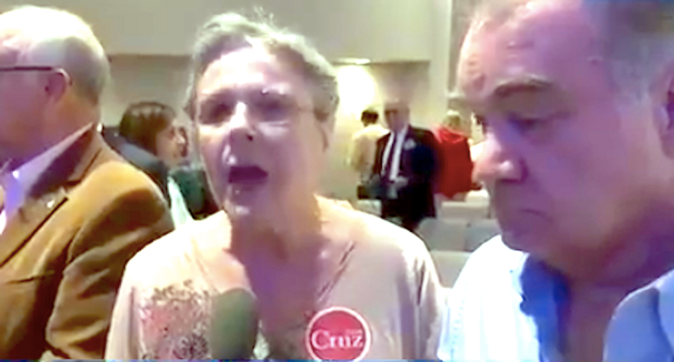 Cruz supporters are just as bonkers as Trump's: Obama 'ruined our country, ruined Christmas'