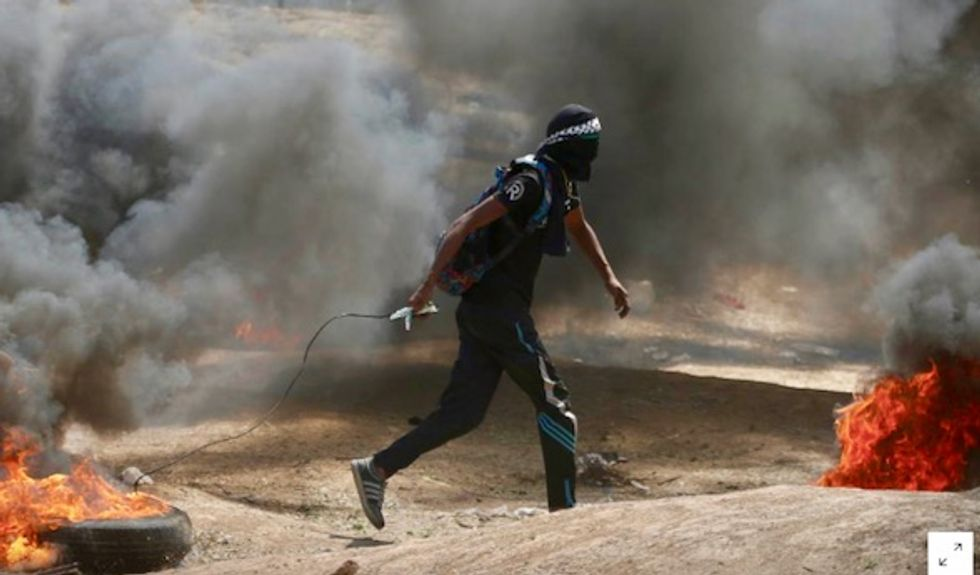 Israeli forces kill 28 in Gaza protests as anger mounts over US Embassy