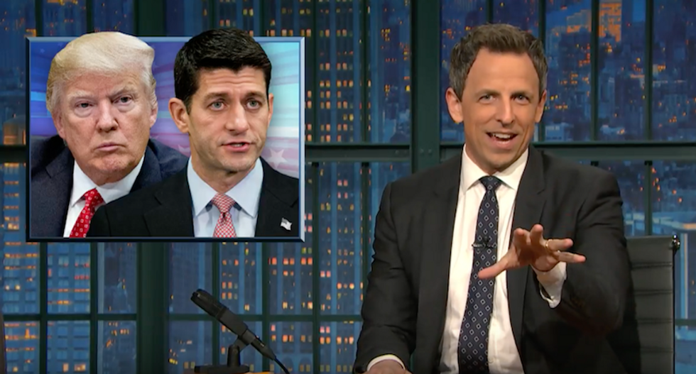 Seth Meyers destroys Trump's healthcare fail: His deal-making skills 'turned out to be a complete sham'