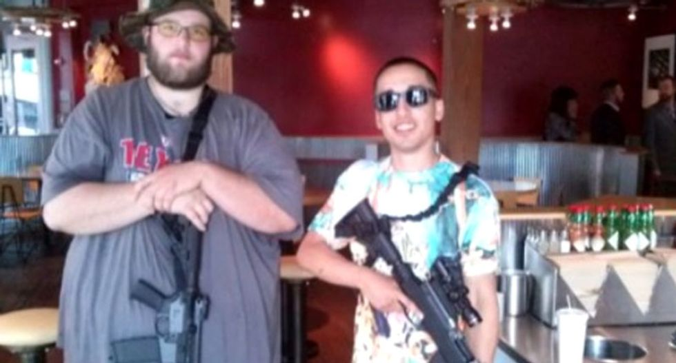 Rush of major retailers follow Walmart in taking a stand against open carry of guns in stores