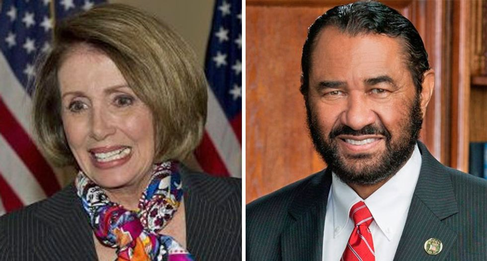 Nancy Pelosi slammed for 'trivializing' the 'impeachable bigot' in the White House