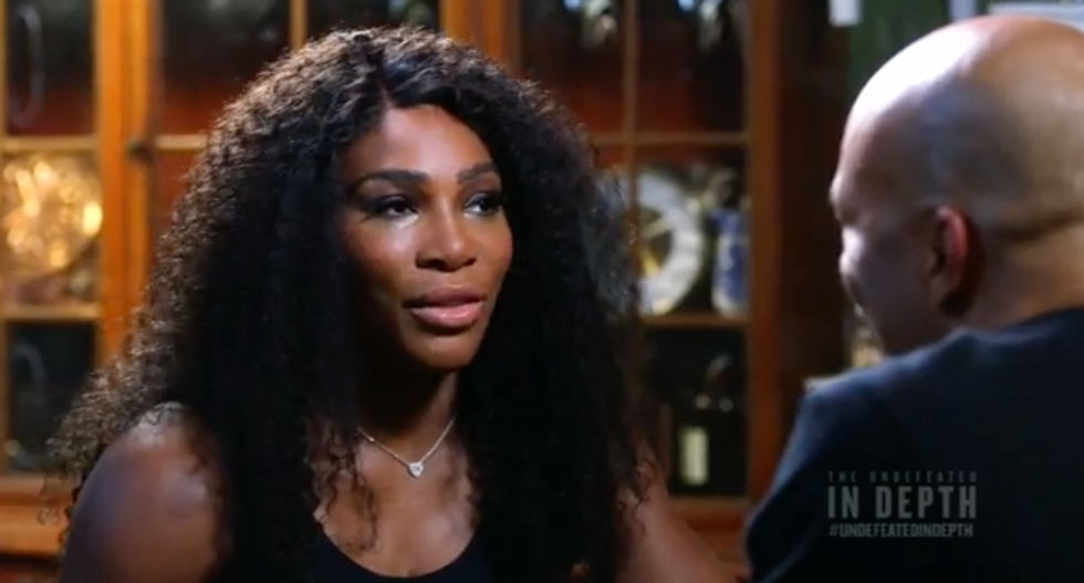 Serena Williams: I would have been called 'the greatest ever a long time ago' if I were a man