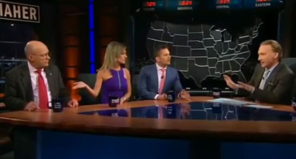 WATCH: Maher panel jumps on pro-gun conservative more worried about ISIS than mass shootings