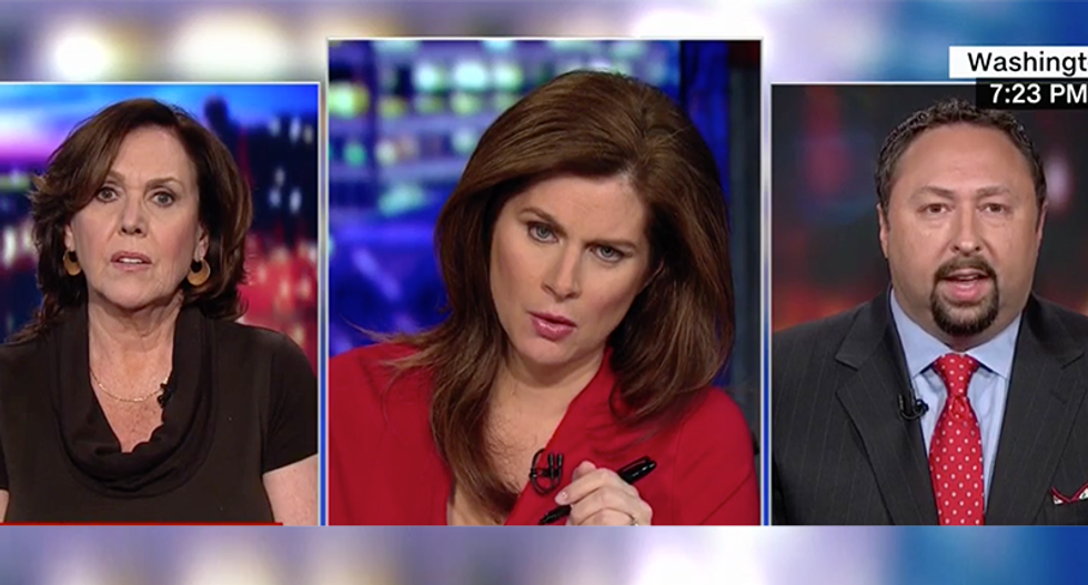 CNN's Erin Burnett forced to end panel after it devolves into chaos: 'Traitorous! Traitorous! Traitorous!'
