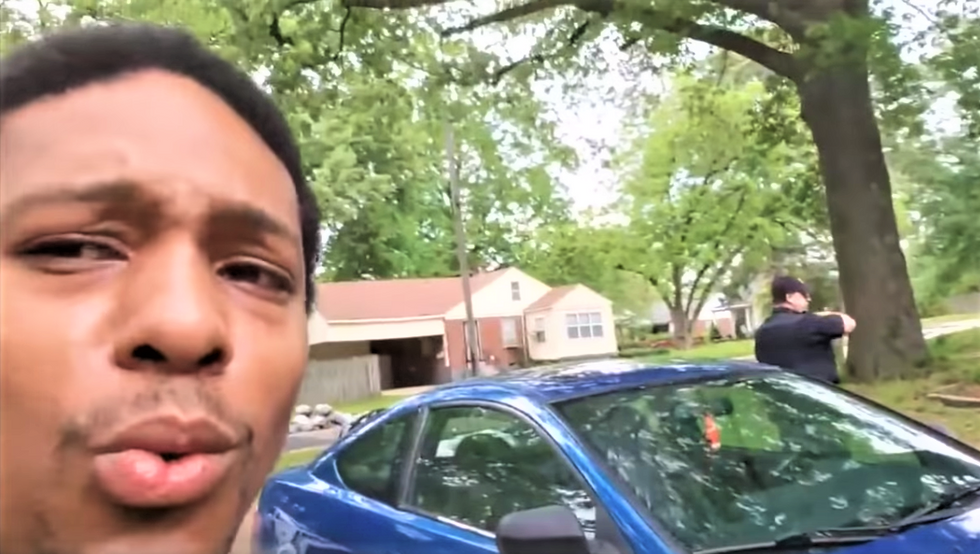WATCH: White woman calls the cops on black man who's trying to fix up house in her neighborhood