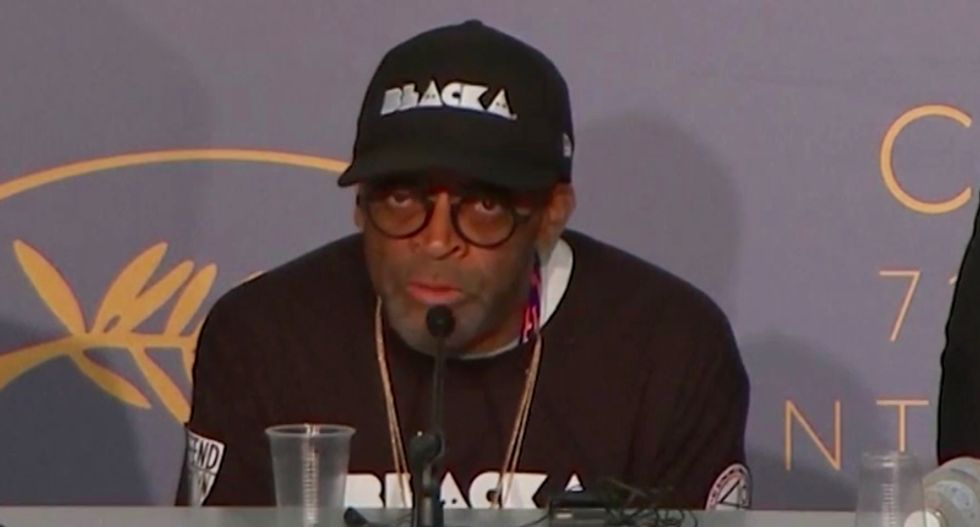Watch Spike Lee's brutal Cannes indictment of 'that motherf*cker' Trump for failing to call out Nazis