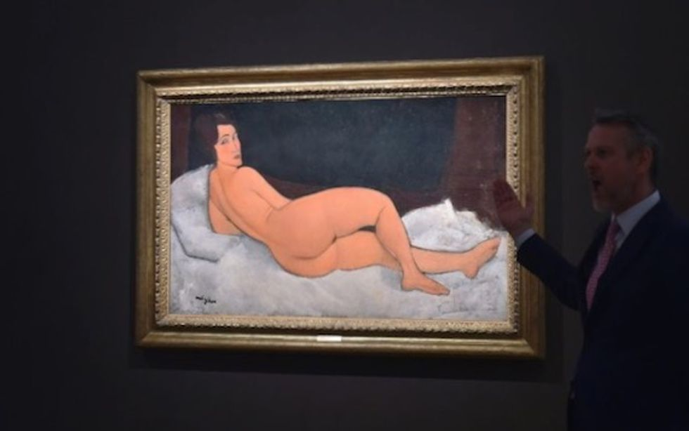 Modigliani sells for $157.2 million in New York: Sotheby's