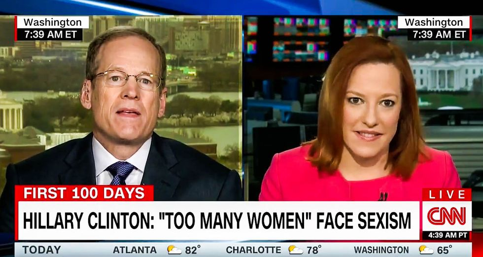 Trump supporter to CNN: Liberals can't complain about racist O'Reilly jokes if they call Trump 'orange'