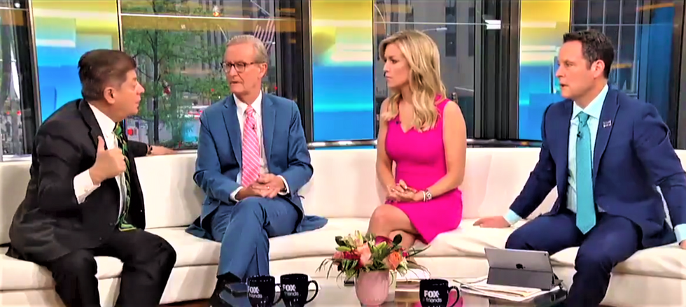 Fox & Friends hosts deflated after legal analyst drops the hammer on Trump: 'The law is not on the president's side'