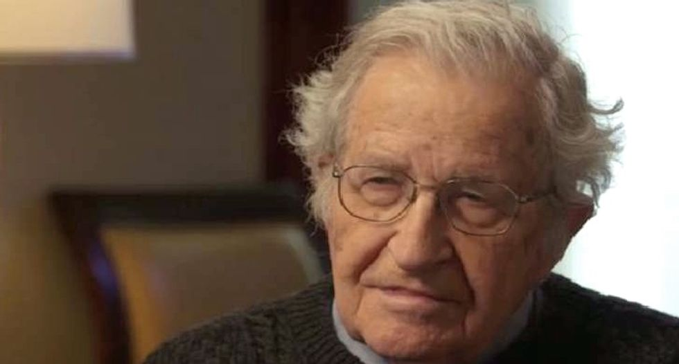 Noam Chomsky reveals exactly what went wrong in the 2016 presidential election that gave us Trump