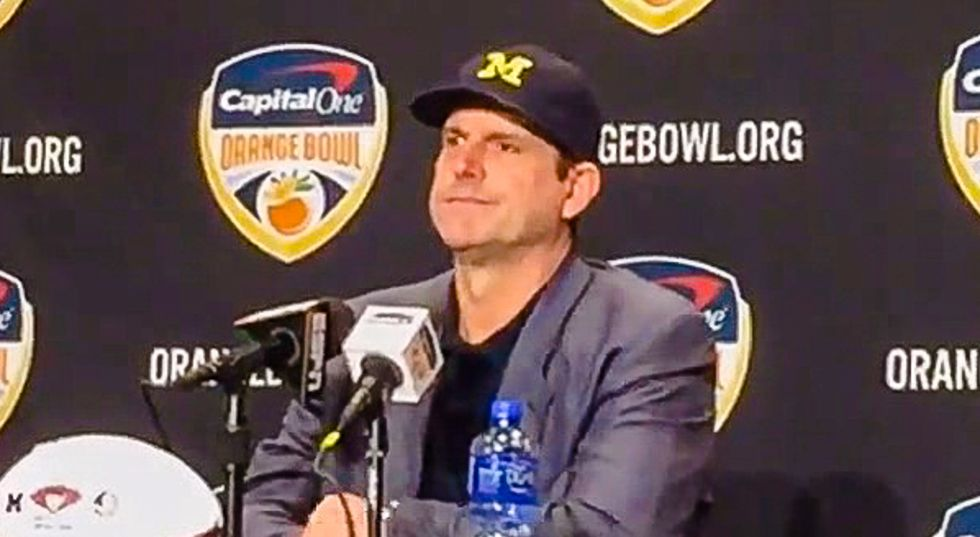 WATCH: Coach humiliates reporter asking if football team came to Orange Bowl to 'see some bikinis'