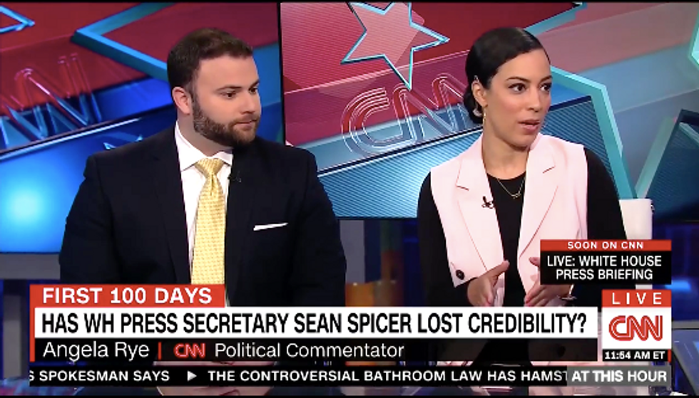 Angela Rye opens fire on Sean Spicer: 'He doesn't get to be April Ryan's daddy'