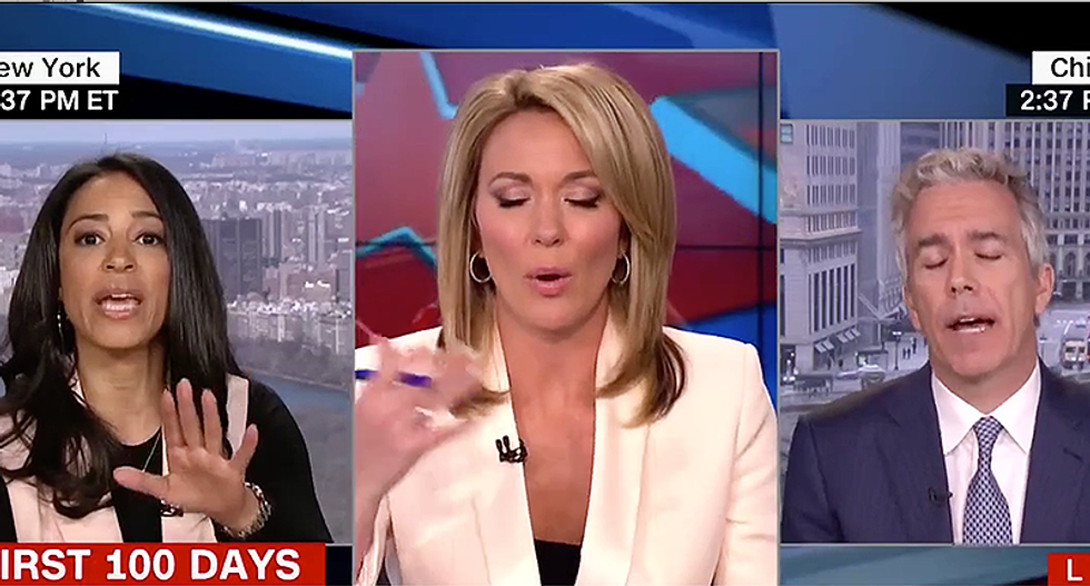 'I'm not talking to bigots': Angela Rye tears into CNN for giving Joe Walsh a platform