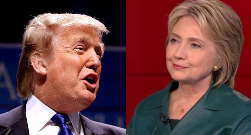 Hillary Clinton dismisses Trump attacks against Bill: 'Let the voters judge'