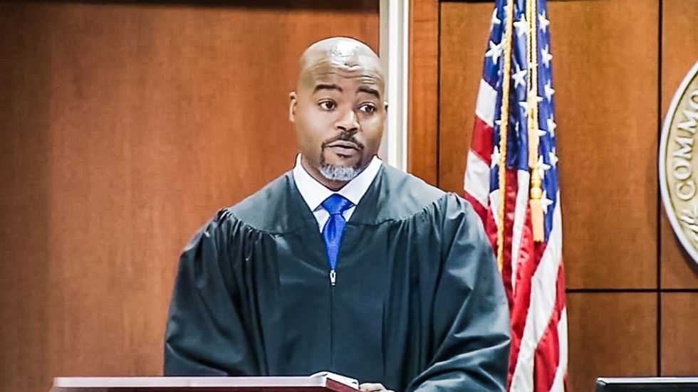 WATCH: Kentucky man shouts 'punk a** n****r' at black judge -- and gets slapped with 60 days in jail