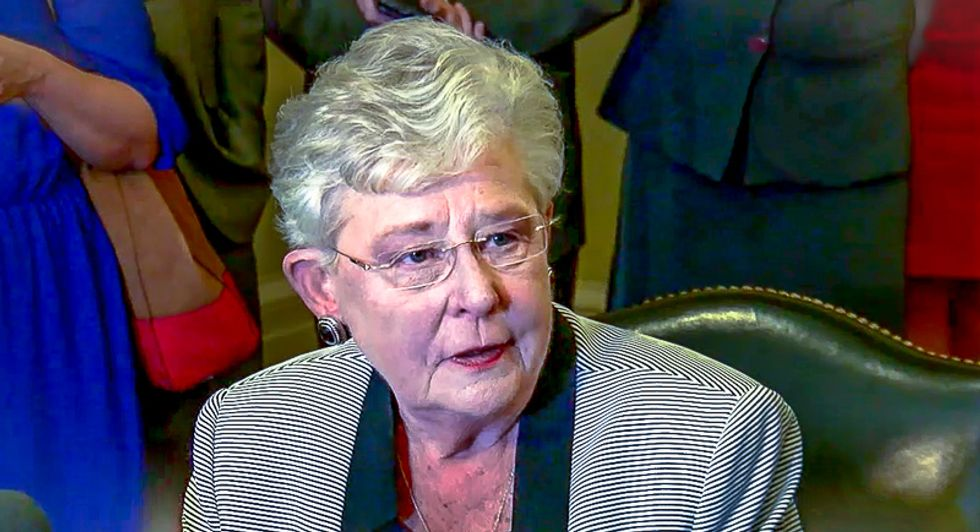 'This is a disgusting lie': Alabama GOP governor lashes out after being called a lesbian with a girlfriend