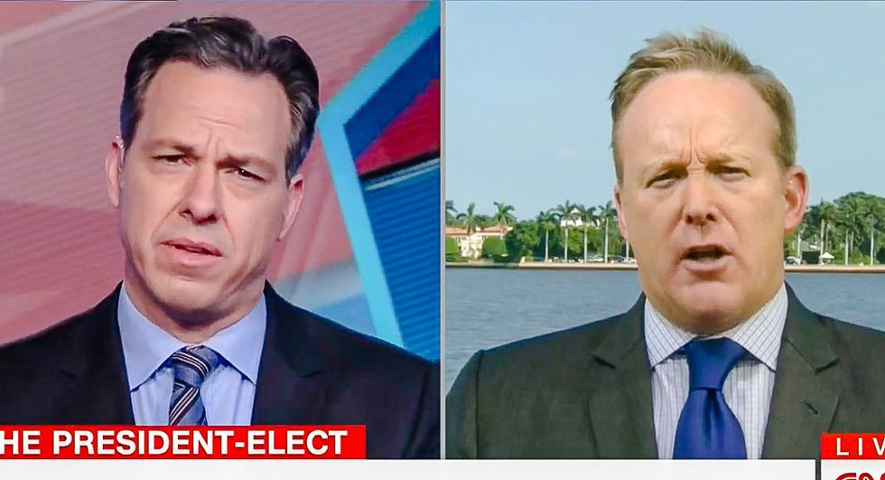 Blaming the victim: Sean Spicer says 'responsibility' for getting hacked is on DNC, not Russia