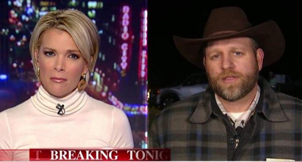 WATCH: Fox News' Megyn Kelly slaps down seditious Ammon Bundy's feeble 'gotcha' question