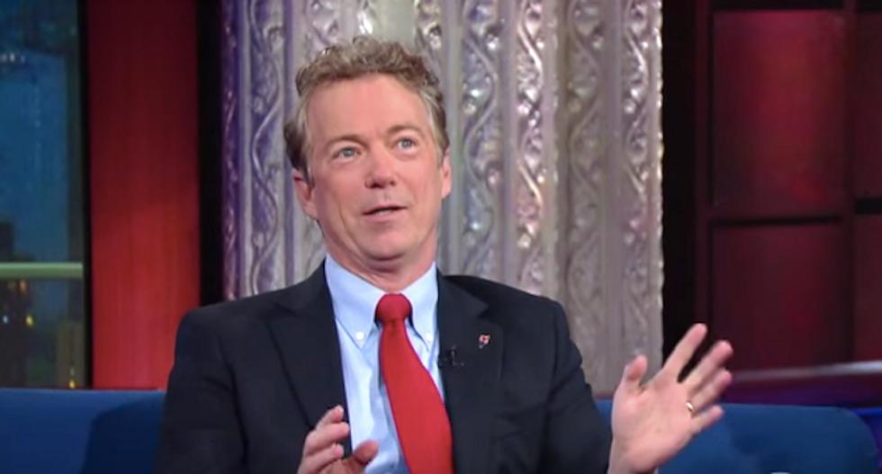Sen. Rand Paul condemns airstrikes on Syria